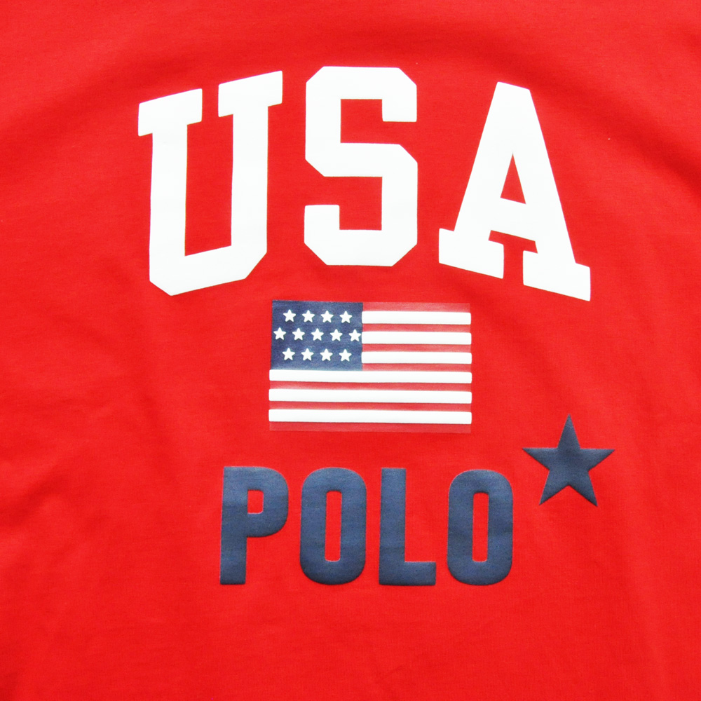 POLO RALPH LAUREN/ポロ ラルフローレン USA POLOプリントTEE-3