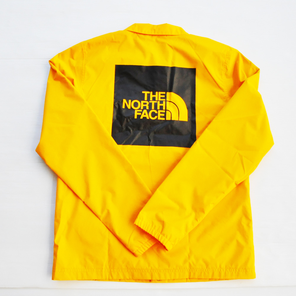 THE NORTH FACE / ザノースフェイス WIND WALL コーチJKT BIG SIZE イエロー 海外モデル