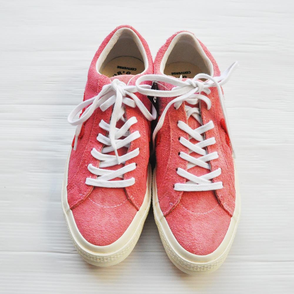 CONVERSE/ コンバース Converse×Golf le Fleur ONE STAR ピンク×オレンジ