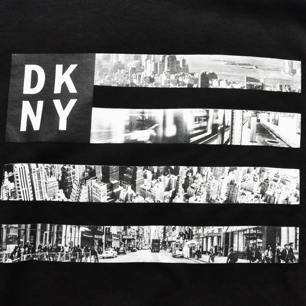 DKNY / ダナキャラン NEW YORK フォトプリント クルーネックスウェット-3