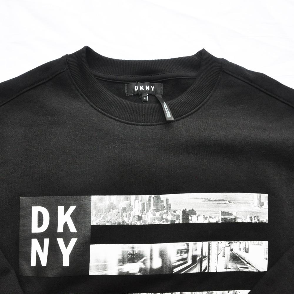 DKNY / ダナキャラン NEW YORK フォトプリント クルーネックスウェット-4