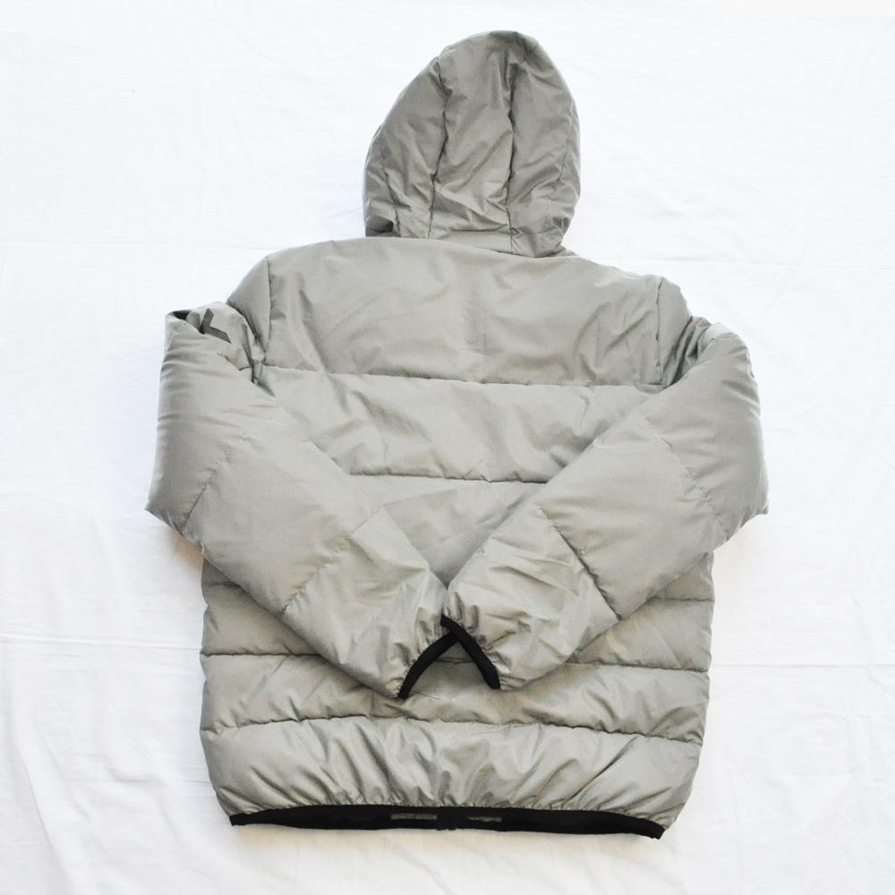 DKNY/ダナキャラン CLASSIC HOODED LOGO キルティングジャケット リフレクター-2