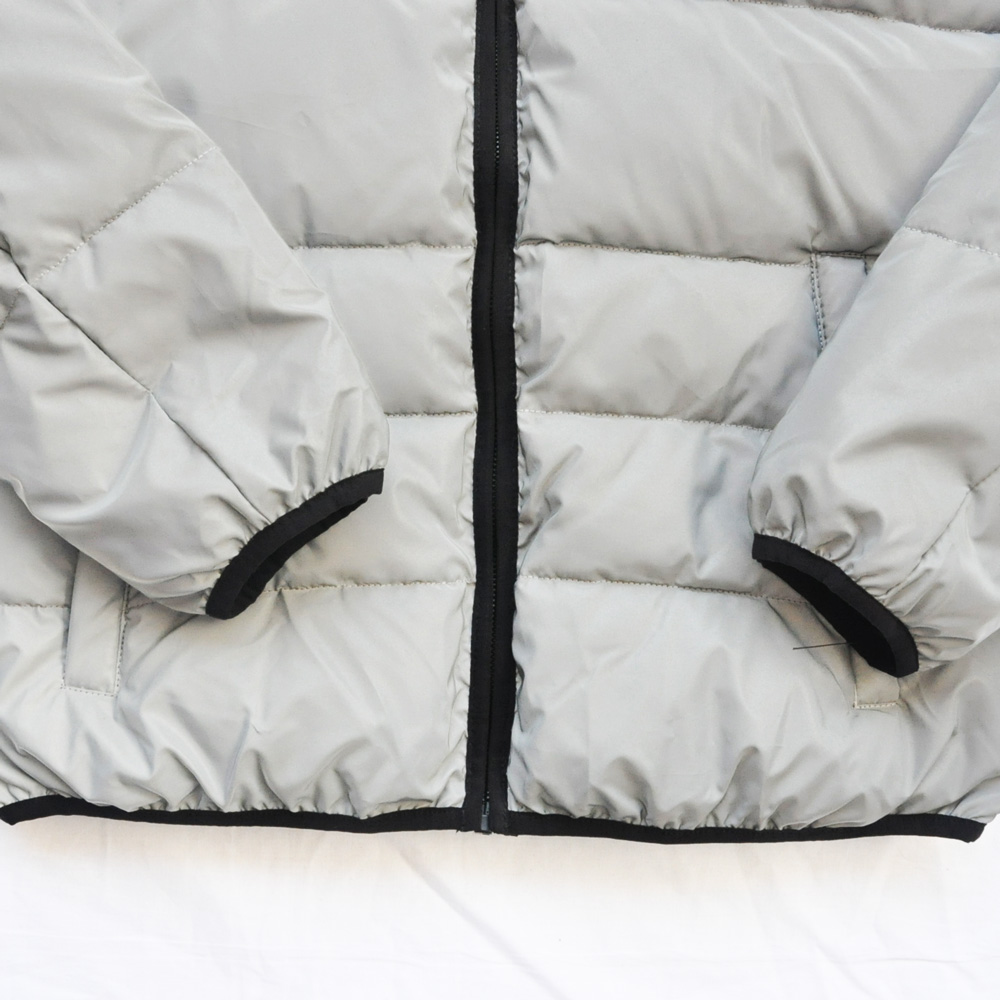 DKNY/ダナキャラン CLASSIC HOODED LOGO キルティングジャケット リフレクター-5