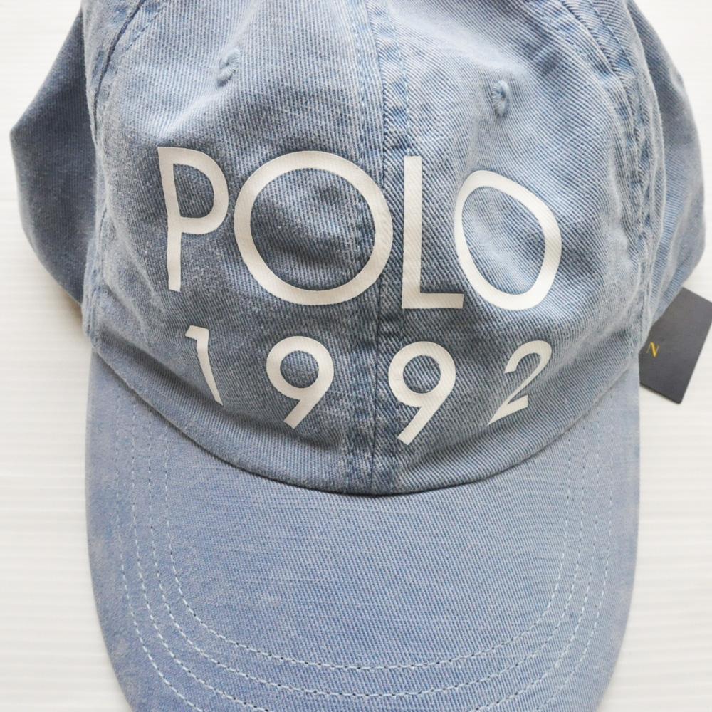 POLO RALPH LAUREN /ポロ ラルフローレン POLO 1992 ロゴキャップ -2