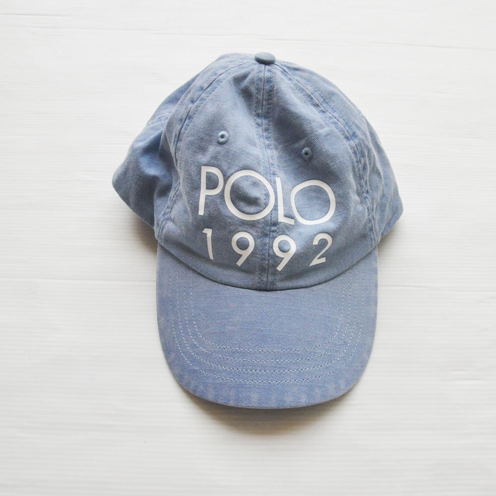 POLO RALPH LAUREN /ポロ ラルフローレン POLO 1992 ロゴキャップ