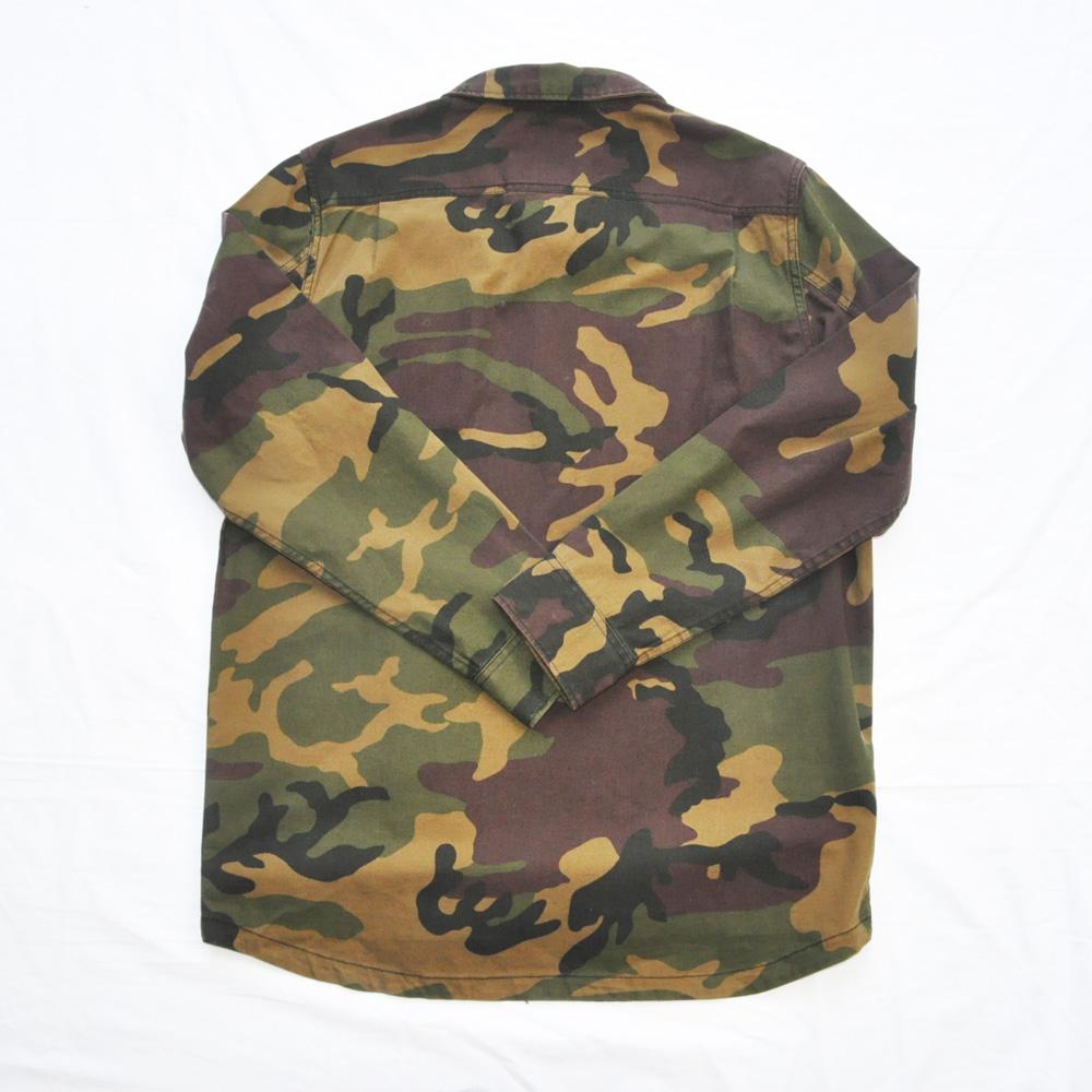 VANS/バンズ 迷彩柄ロングスリーブシャツ ジャケット-2