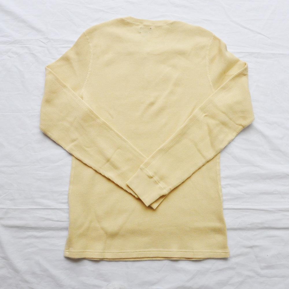 J.CREW/ジェイクルー ヘンリーネックサーマルロングスリーブTシャツ キナリ-2