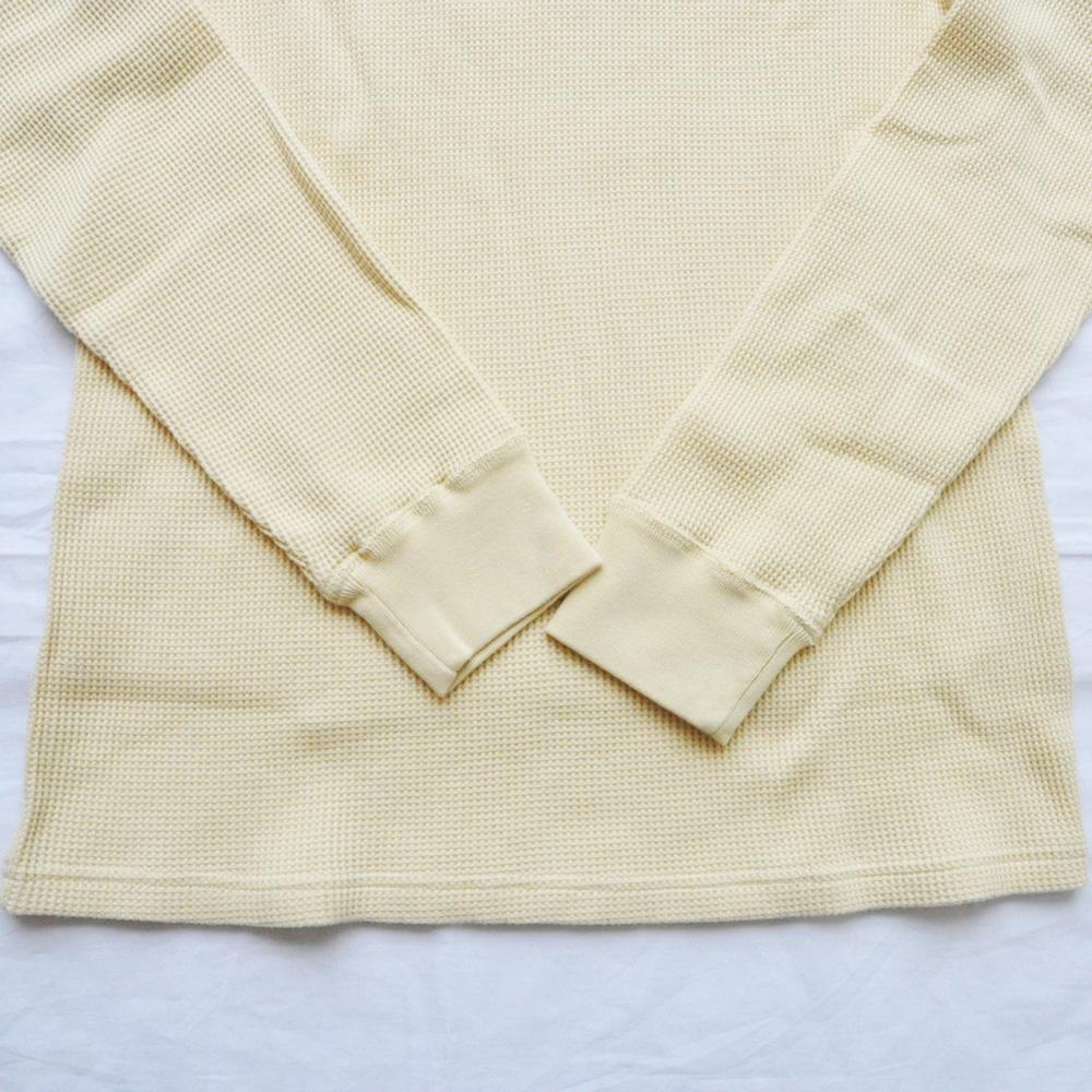 J.CREW/ジェイクルー ヘンリーネックサーマルロングスリーブTシャツ キナリ-4