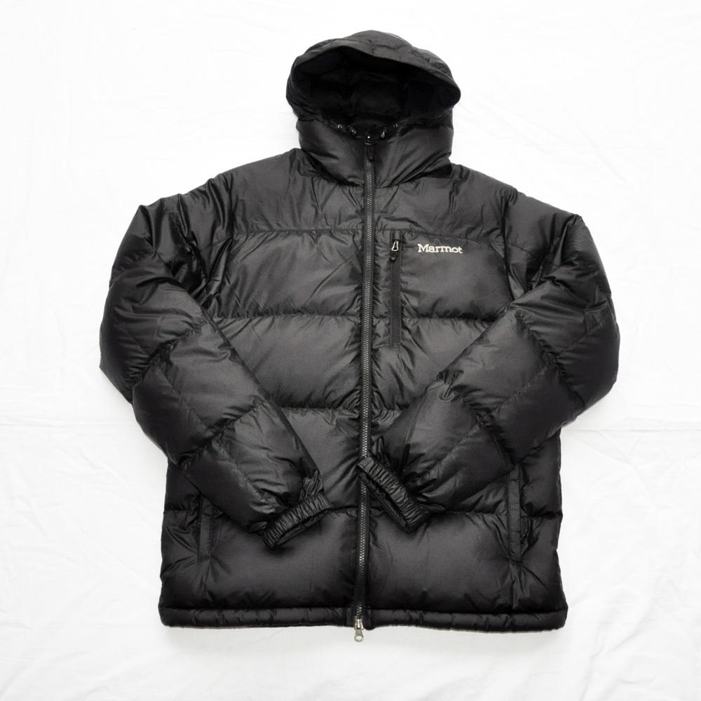 MARMOT / マーモット 700FILL ダウンジャケット ブラック BIG SIZE