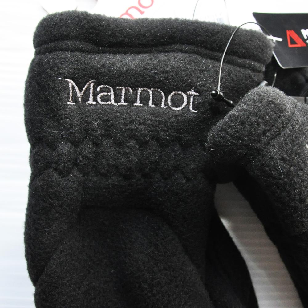 MARMOT / マーモット フリースグローブ ブラック-4