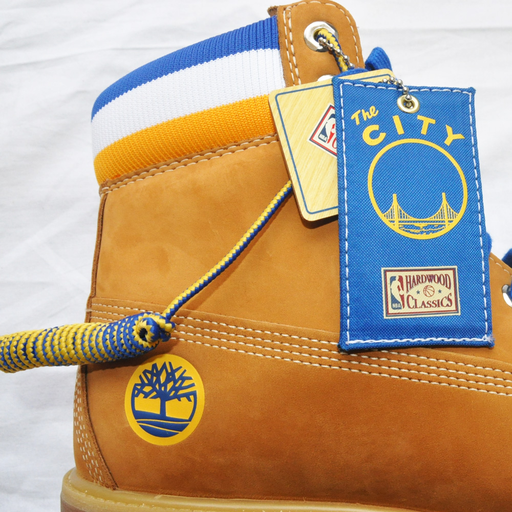 TIMBERLAND/ティンバーランド Timberland 6inch Boot/ Mitchell&Ness Golden State Warriors-6