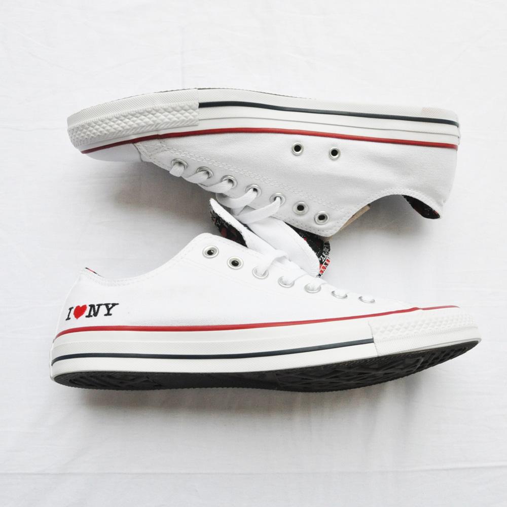 CONVERSE/コンバース ALL STAR I LOVE NY ホワイト NY限定モデル-2
