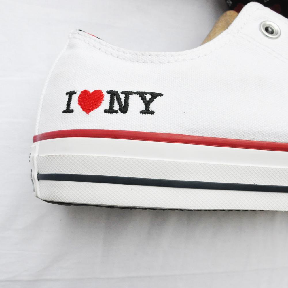 CONVERSE/コンバース ALL STAR I LOVE NY ホワイト NY限定モデル-5