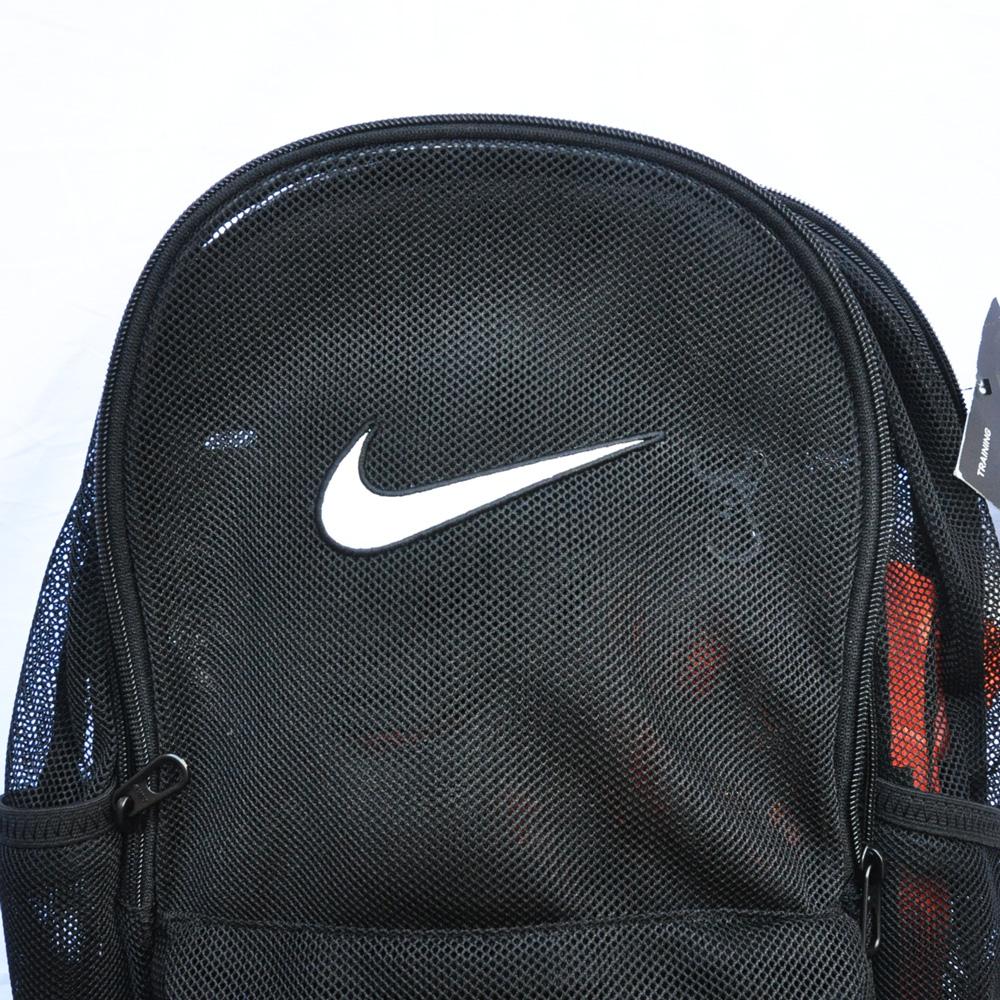 NIKE/ナイキ MESH BRASILIA BACK PACK BAG ブラック-3