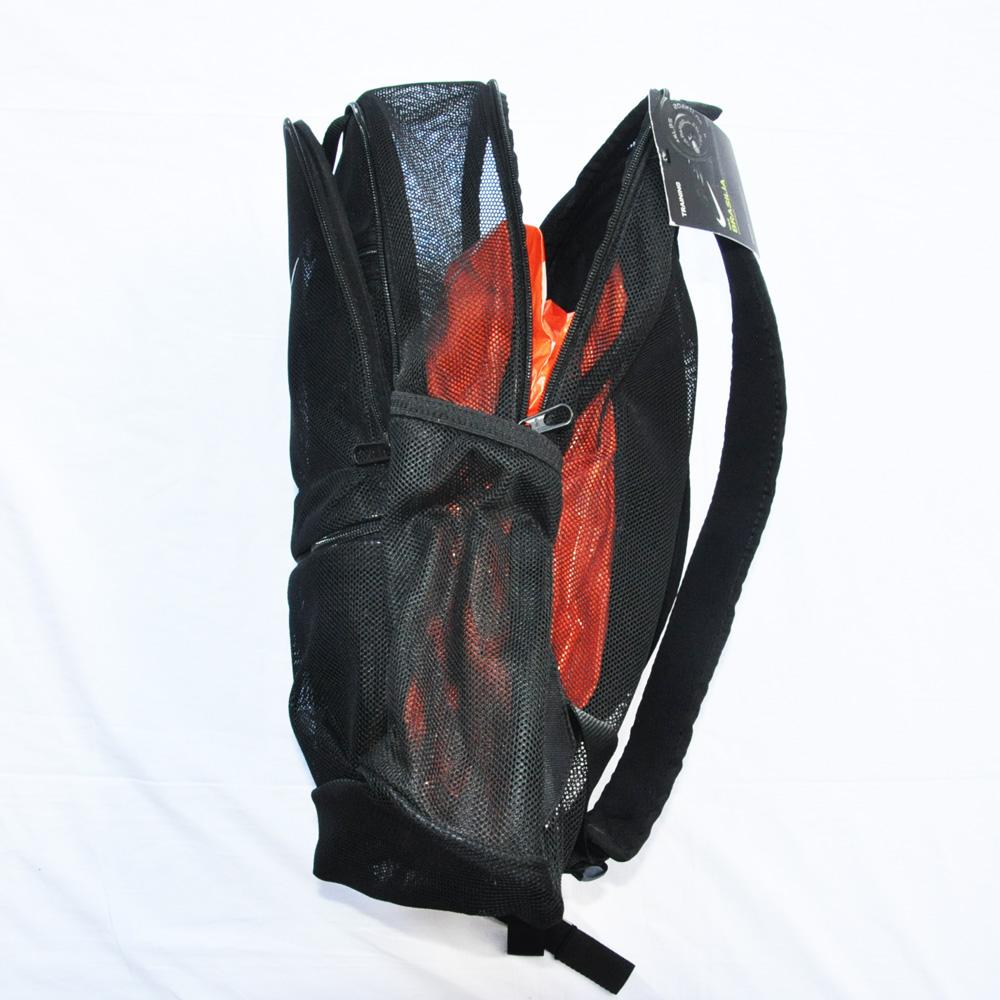 NIKE/ナイキ MESH BRASILIA BACK PACK BAG ブラック-5