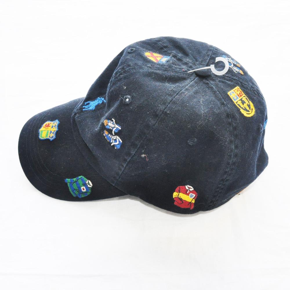 POLO RALPH LAUREN /ポロラルフローレン RUGBY刺繍 CAP ネイビー-3