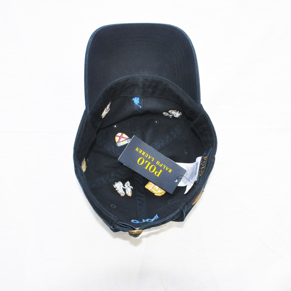 POLO RALPH LAUREN /ポロラルフローレン RUGBY刺繍 CAP ネイビー-5