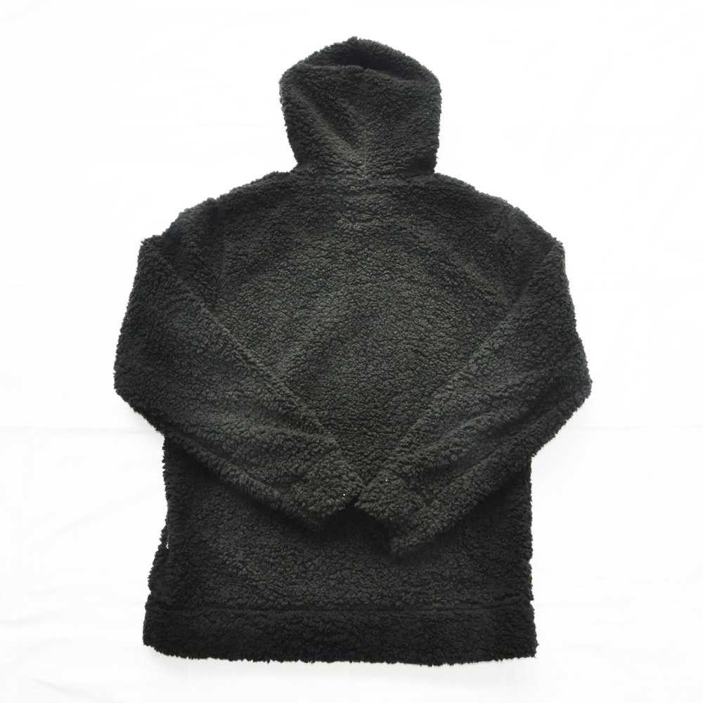 BROOKLYN CLOTH/ブルックリンクロス ボアフードパーカー ブラック-2