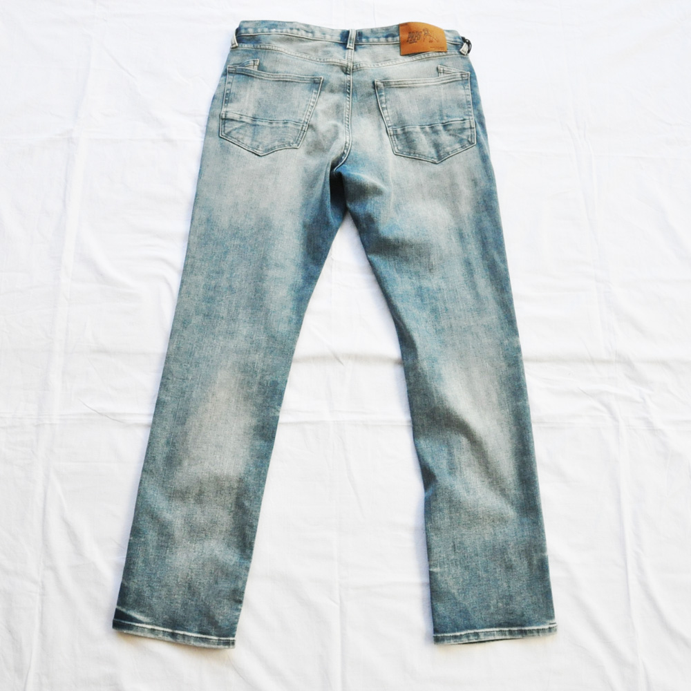 PRPS GOODS&CO./ピーアールピーエス グッズ&コー SLIM FIT MID RISE STRETCH DENIM-2