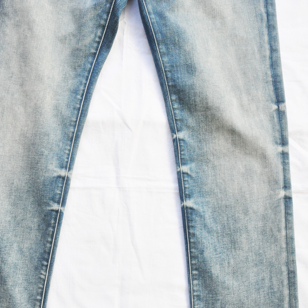 PRPS GOODS&CO./ピーアールピーエス グッズ&コー SLIM FIT MID RISE STRETCH DENIM-4