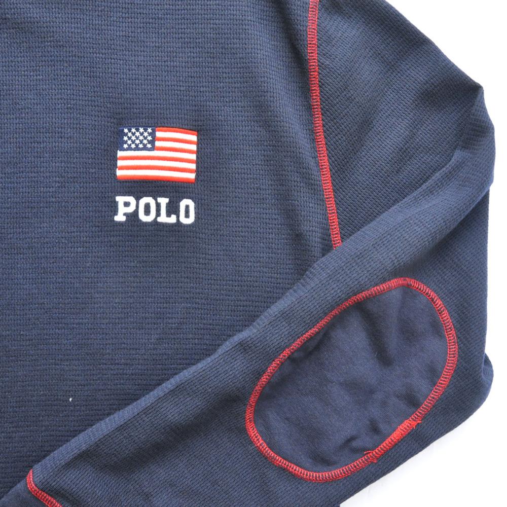 POLO RALPH LAUREN /ポロ ラルフローレン P WING FOOT ボーダーTEE-45