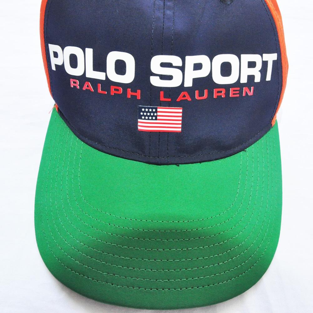POLO SPORT/ポロ スポーツ ナイロンマルチカラー キャップ-5