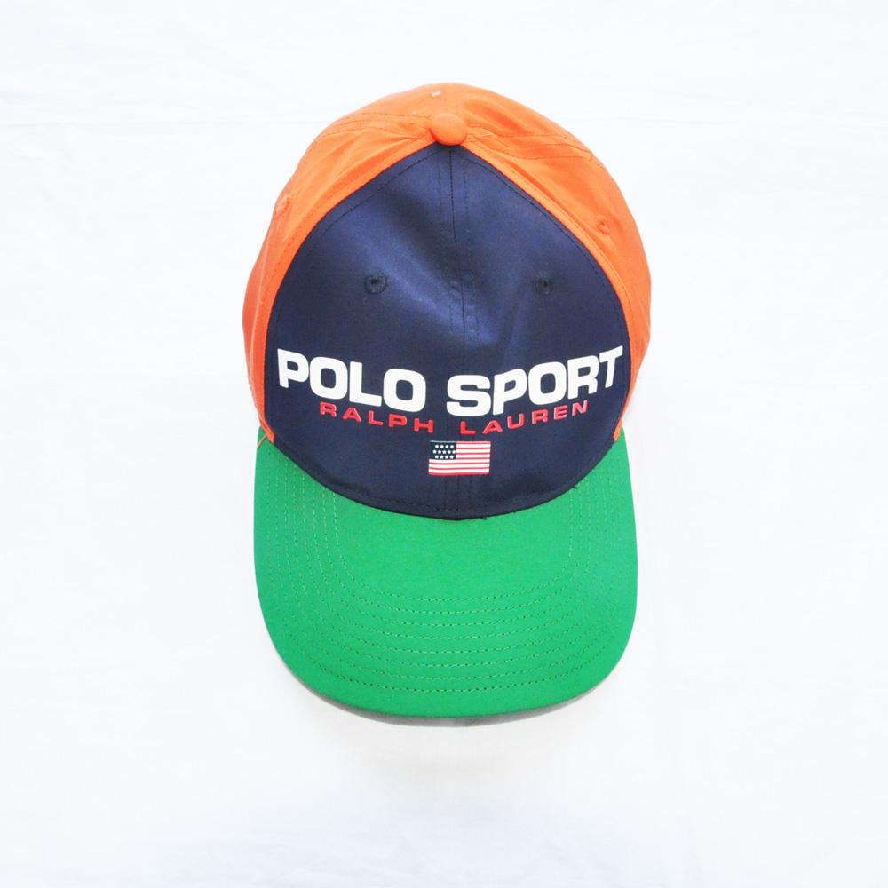 POLO SPORT/ポロ スポーツ ナイロンマルチカラー キャップ