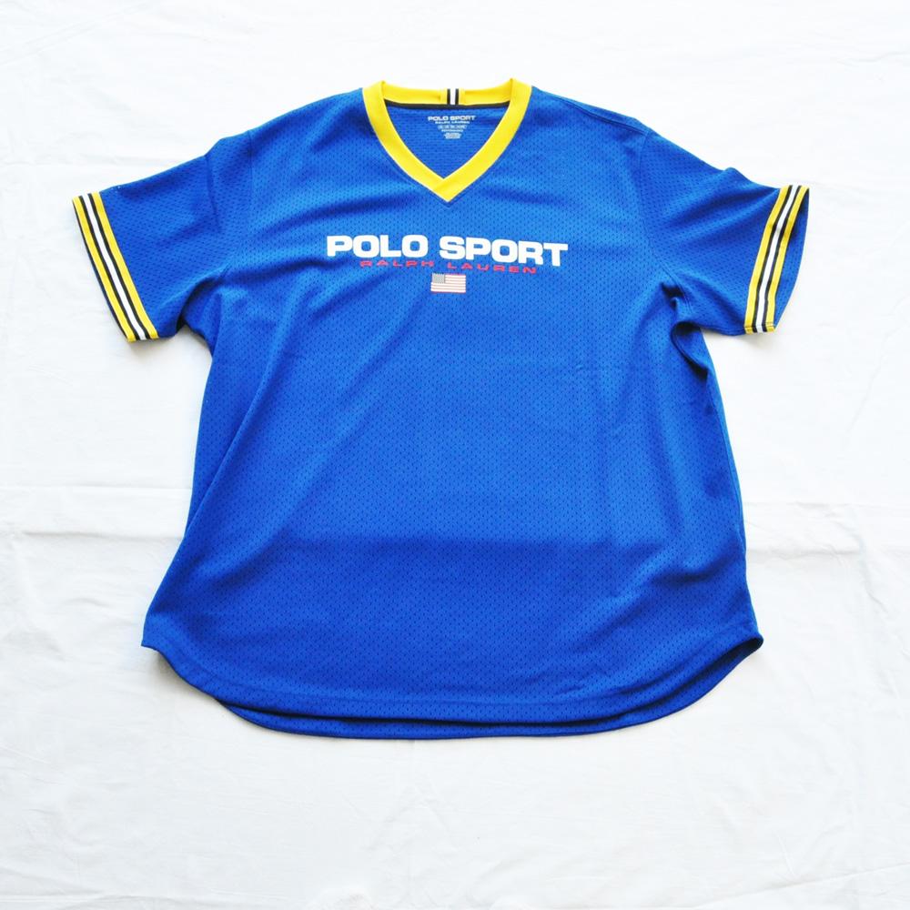 POLO SPORT/ポロ スポーツ メッシュ半袖ゲームシャツ BIG SIZE