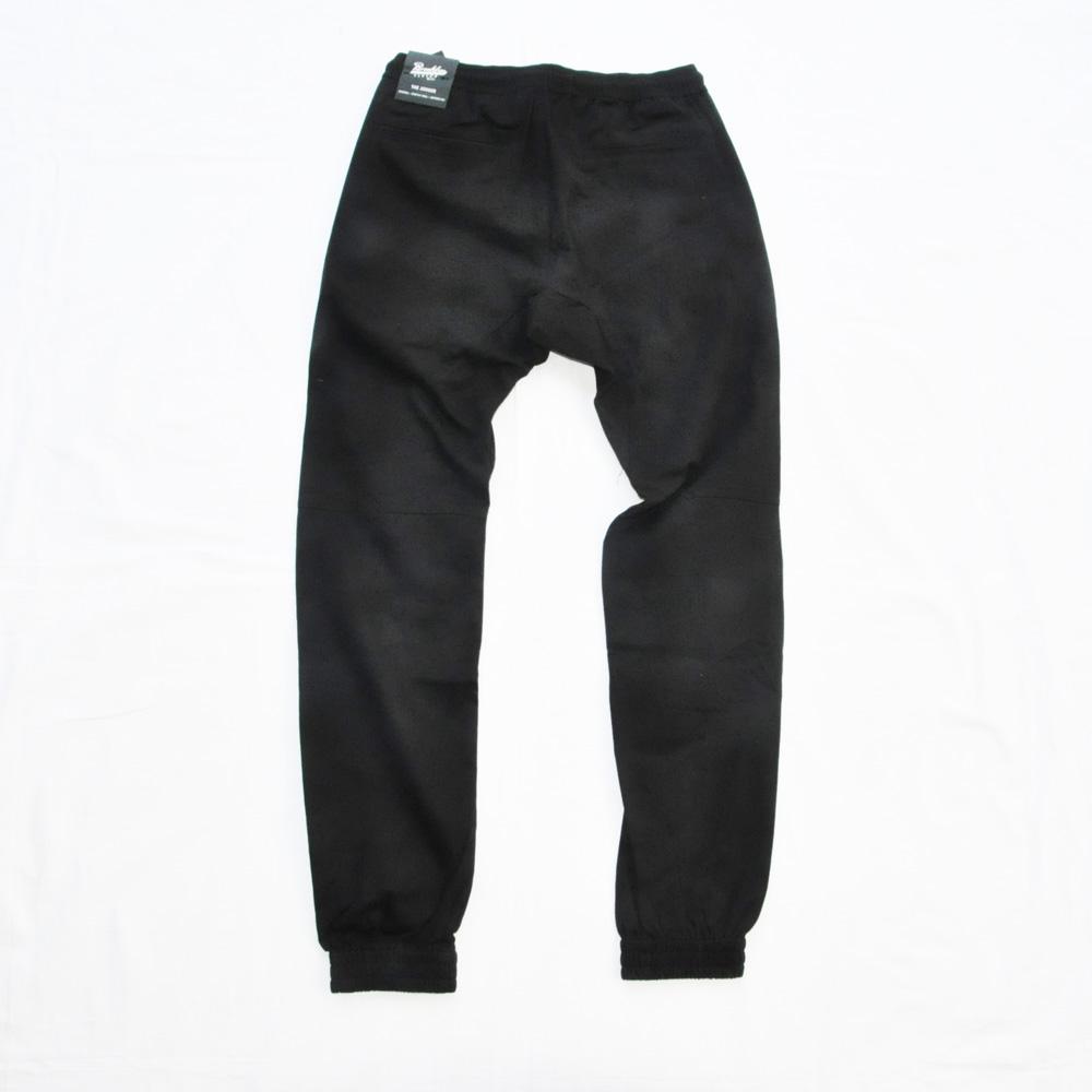 BROOKLYN CLOTH/ブルックリンクロス STRETCH TWILL TAPERDE LEG JOGGER ブラック SIZE S,M,XL-2