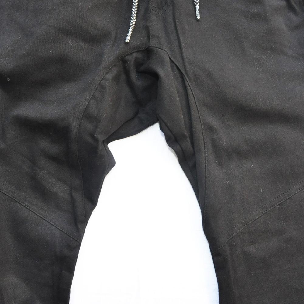 BROOKLYN CLOTH/ブルックリンクロス STRETCH TWILL TAPERDE LEG JOGGER ブラック SIZE S,M,XL-5