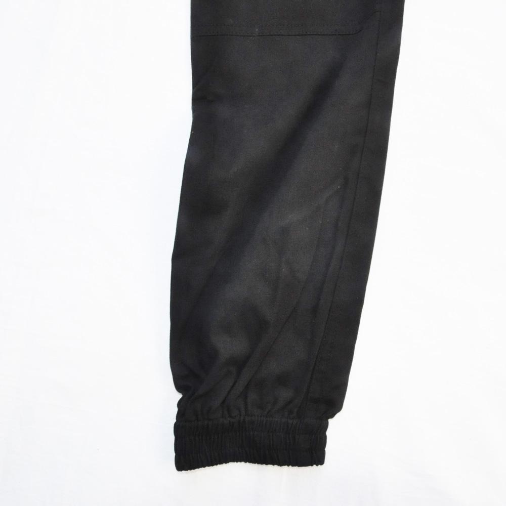 BROOKLYN CLOTH/ブルックリンクロス STRETCH TWILL TAPERDE LEG JOGGER ブラック SIZE S,M,XL-6