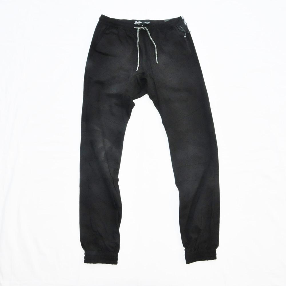 BROOKLYN CLOTH/ブルックリンクロス STRETCH TWILL TAPERDE LEG JOGGER ブラック SIZE S,M,XL