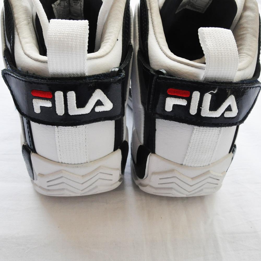 FILA /フィラ 96 GL GRANT HILL ホワイト×ネイビー-4
