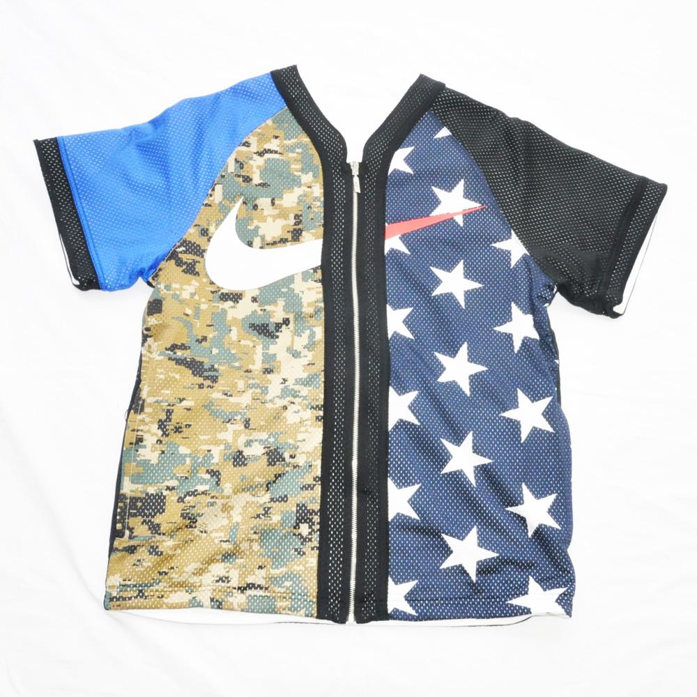 NIKE/ナイキ NIKE LAB REVERSIBLE BASEBALL 半袖ゲームシャツ