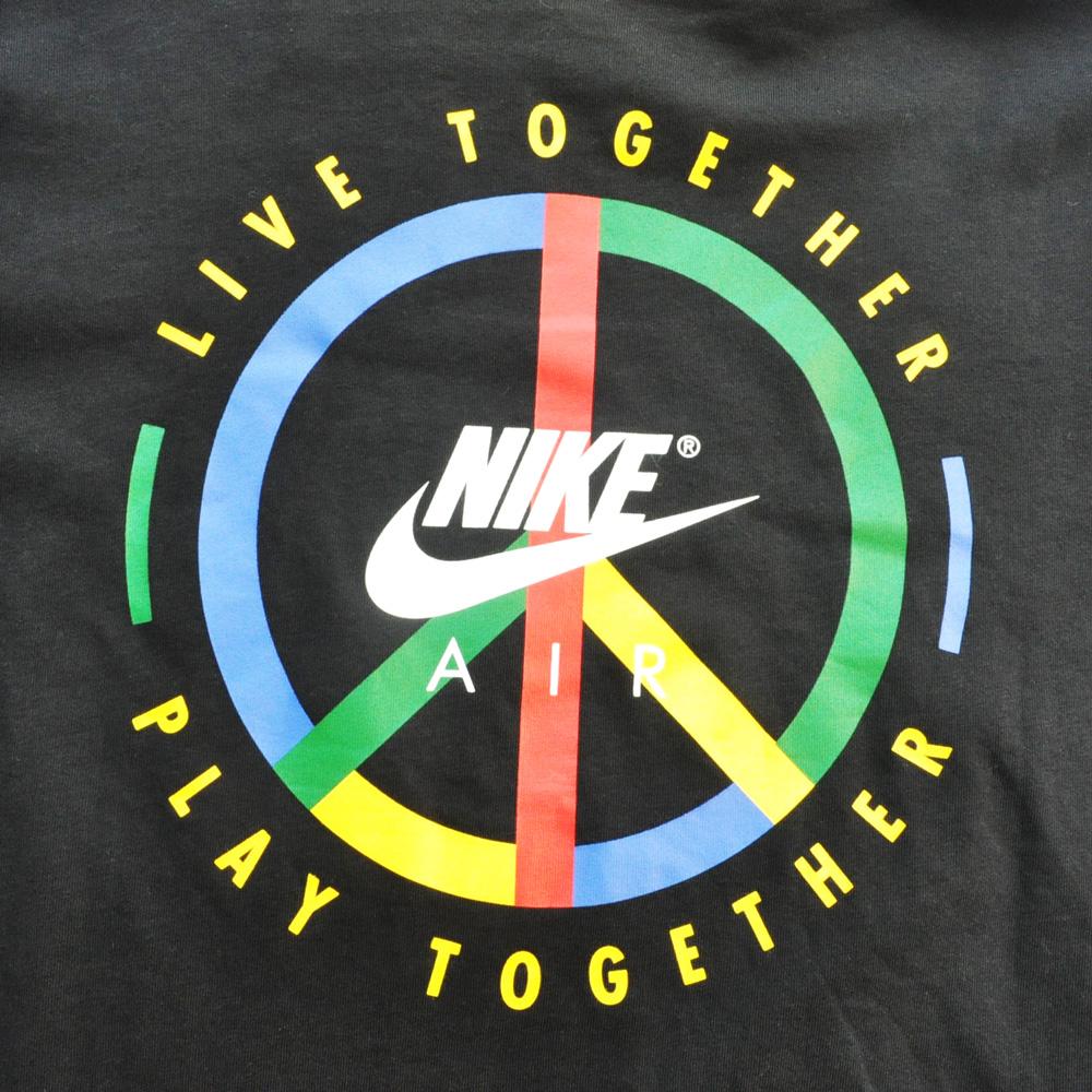 NIKE/ナイキ NIKE LIVE TOGETHER PLAY TOGETHER NYC フード付きBASKET BALL Tシャツ-3