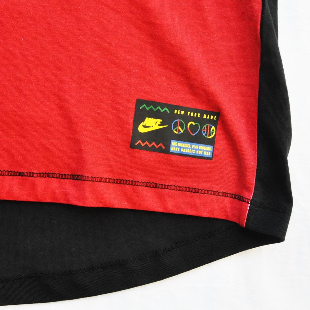 NIKE/ナイキ NIKE LIVE TOGETHER PLAY TOGETHER NYC フード付きBASKET BALL Tシャツ-6