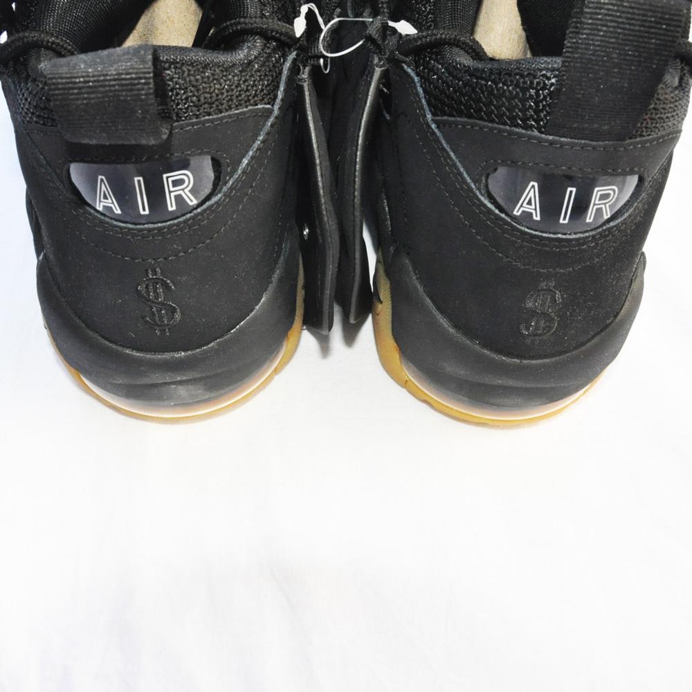 NIKE/ナイキ AIR MORE MONEY BLACK-4