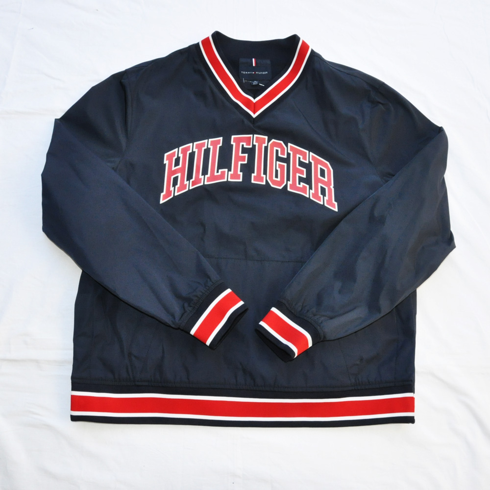 TOMMY HILFIGER /トミーヒルフィガー ロングスリーブゲームシャツ BIG SIZE