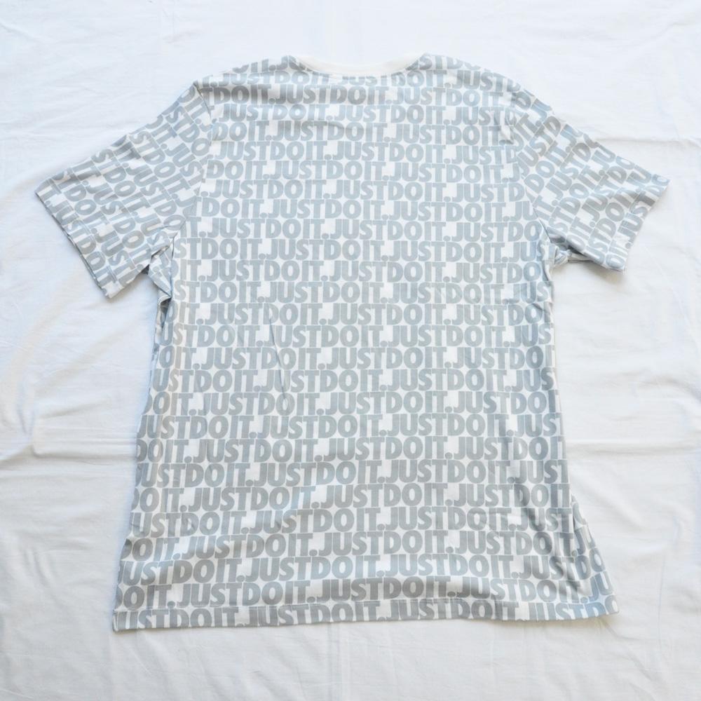 NIKE/ナイキ JUST DO IT 総柄 半袖Tシャツ BIG SIZE-2