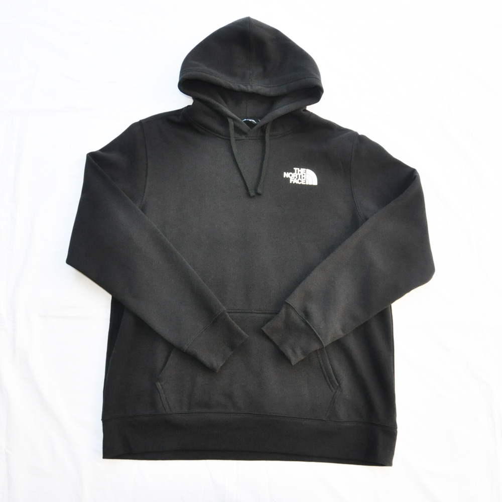 THE NORTH FACE/ザノースフェイス NEVER STOP EXPLORING パーカー ブラック BIG SIZE-2