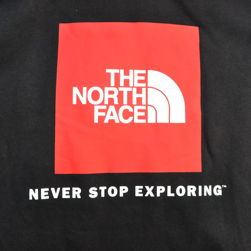 THE NORTH FACE/ザノースフェイス NEVER STOP EXPLORING パーカー ブラック BIG SIZE-3