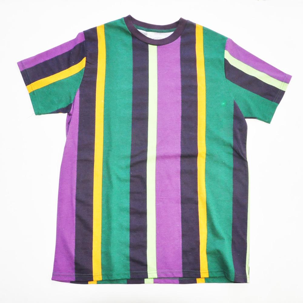 BLACK JACK 1999/ブラックジャック JAMAICAカラー ストライプ半袖Tシャツ