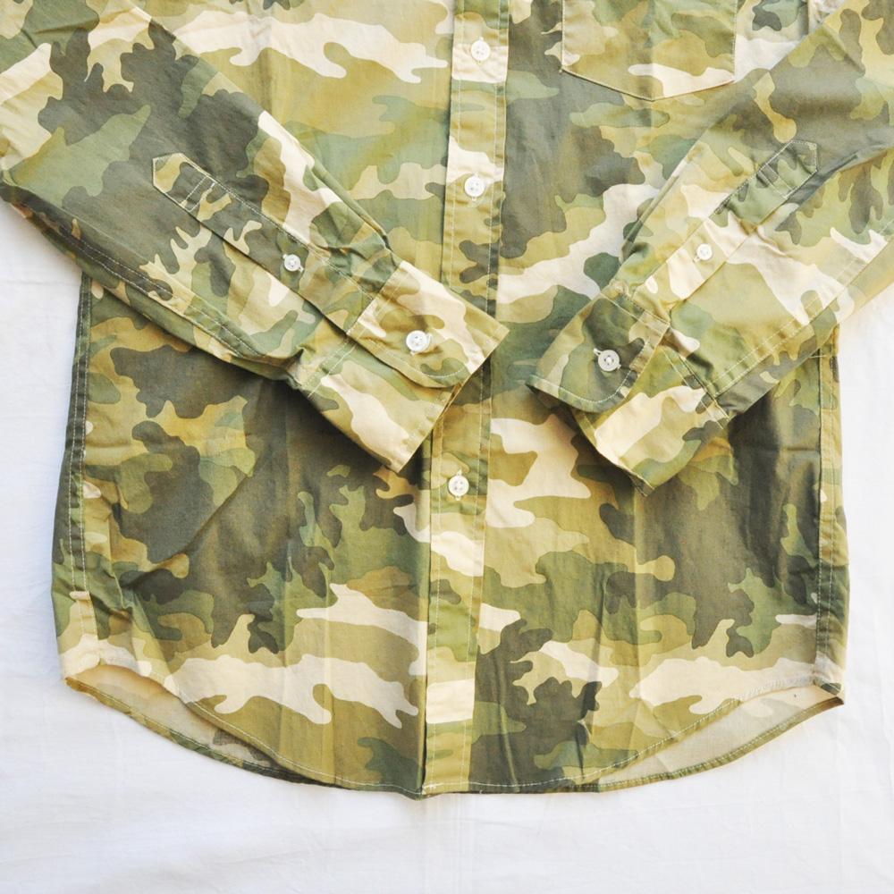 J.CREW/ジェイクルー カモフラ柄 SLIM FIT ロングスリーブシャツ-5