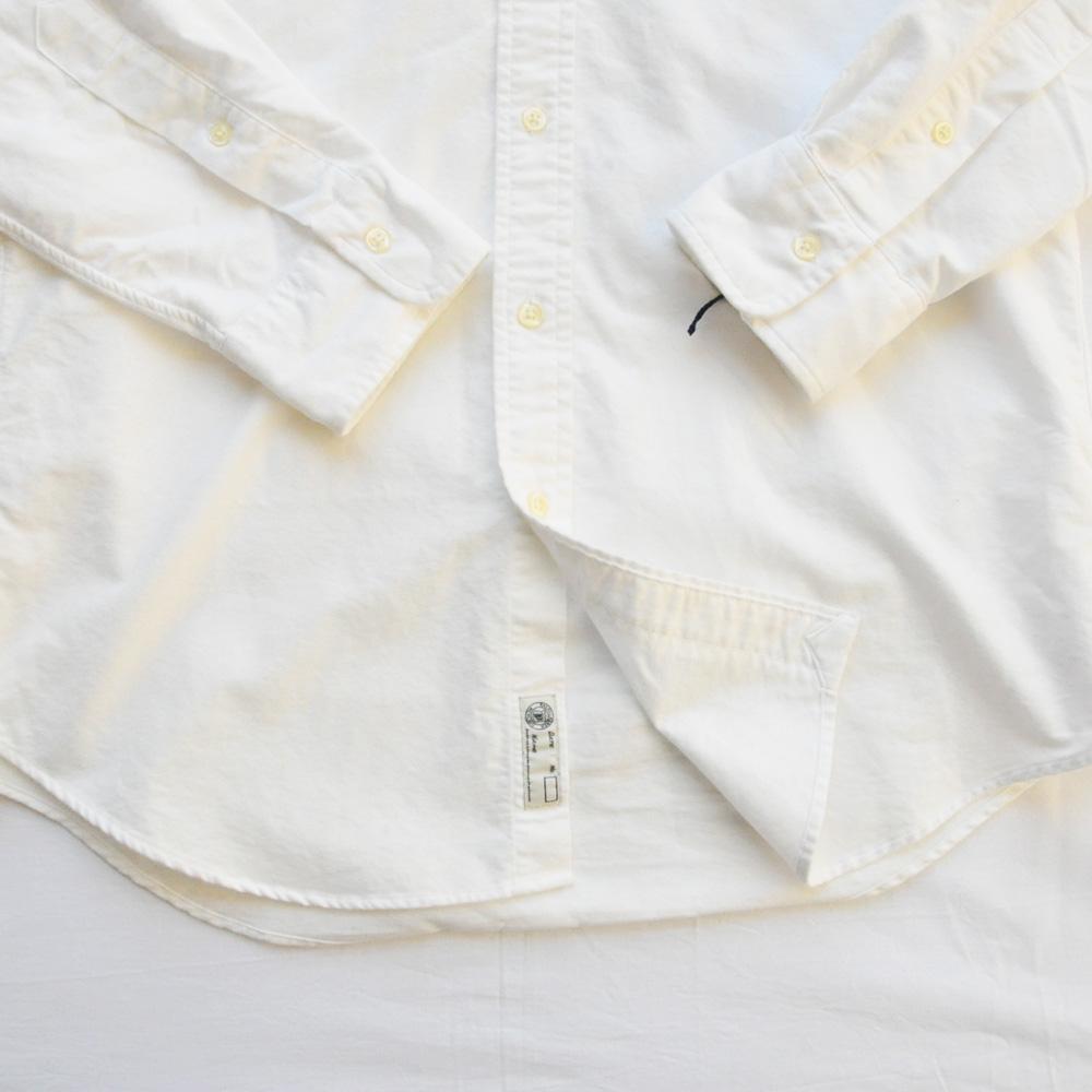 POLO RALPH LAUREN/ポロラルローレン POLOロゴ パッチワーク ロングスリーブシャツ-5