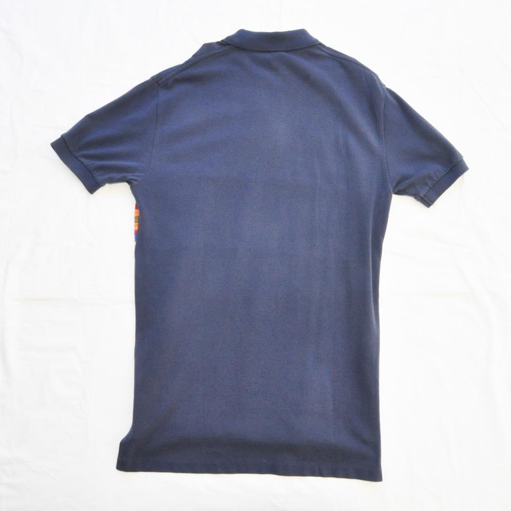 POLO RALPH LAUREN/ポロラルローレン ネイティブ柄 半袖ポロシャツ ネイビー-2