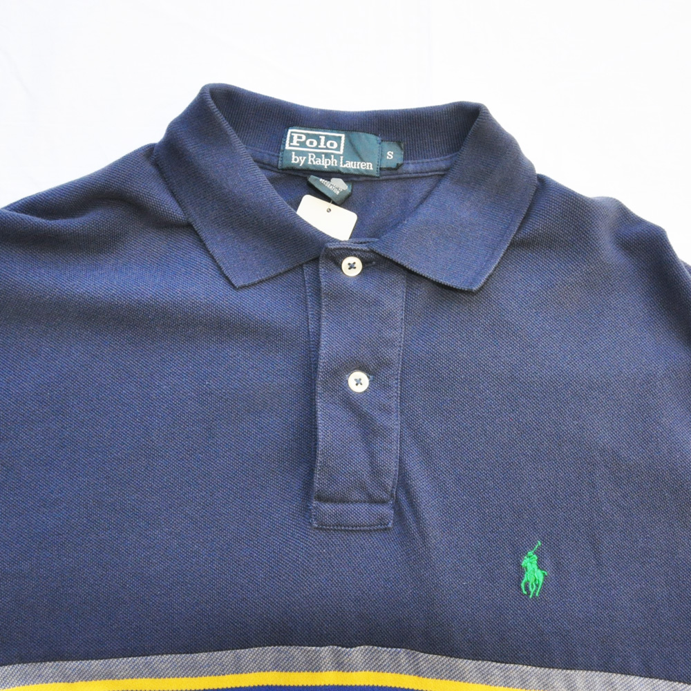 POLO RALPH LAUREN/ポロラルローレン ネイティブ柄 半袖ポロシャツ ネイビー-3
