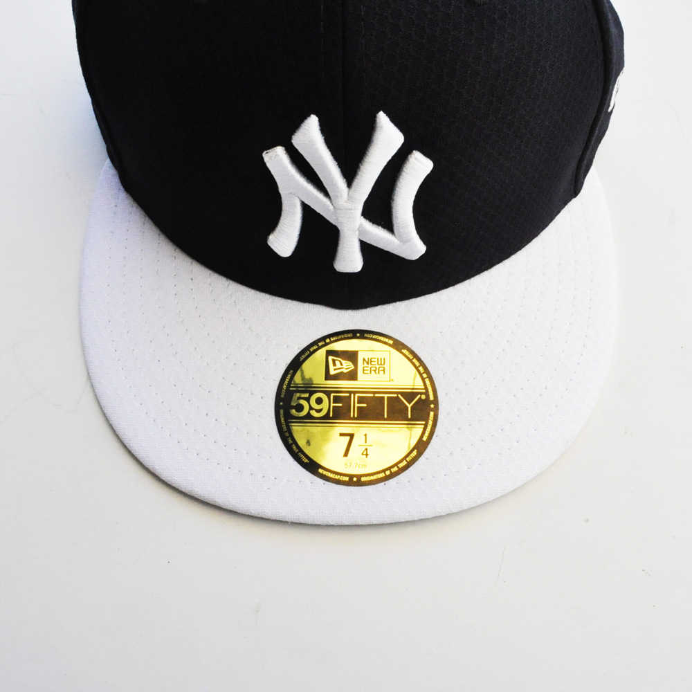 NEW ERA/ニューエラ 59FIFTY NEW YORK YANKEES CAP ブラック×ホワイト-2