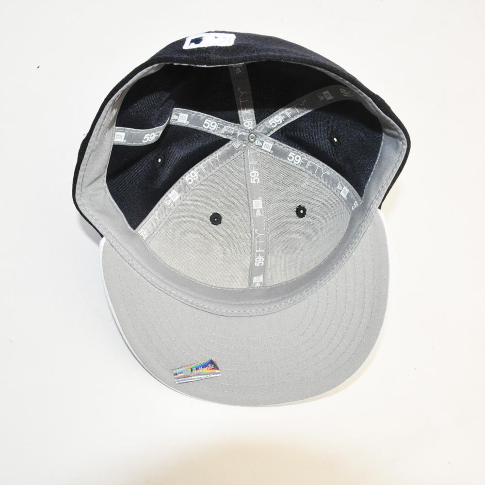 NEW ERA/ニューエラ 59FIFTY NEW YORK YANKEES CAP ブラック×ホワイト-5