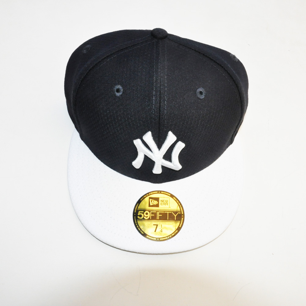 NEW ERA/ニューエラ 59FIFTY NEW YORK YANKEES CAP ブラック×ホワイト | ストリートスタイルのセレクトストア | TUNNEL STORE - トンネルストア