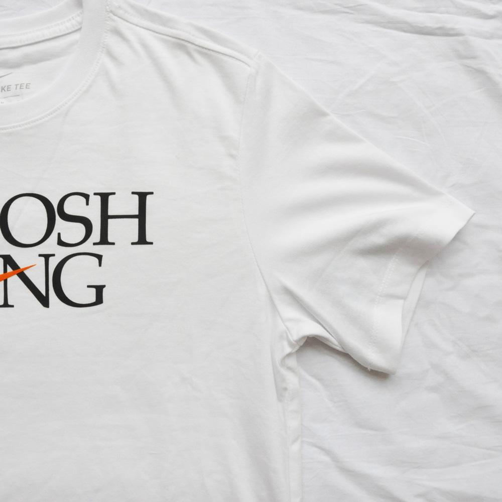 NIKE/ナイキ STANDARD FIT SWOOSH GANG 半袖Tシャツ ホワイト-5